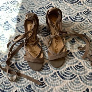 Sam Edelman Lace Up Sandals